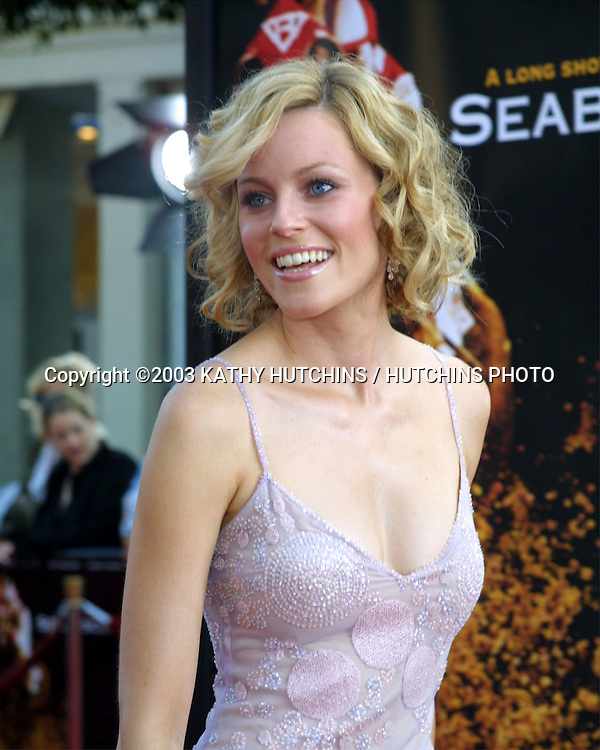 "©2003 KATHY HUTCHINS / HUTCHINS PHOTO.""SEABISCUIT"" PREMIERE.WESTWOOD, CA.JULY 22, 2003..ELIZABETH BANKS"