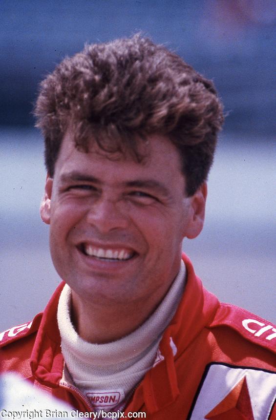 Michael Walltrip at Daytona International Speedway for the Pepsi 400, Daytona Beach, FL, July 1996.  (Photo by Brian Cleary/www.bcpix.com)