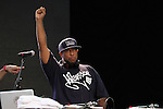 DJ Premier Spinnin at Rock Steady Crew 36th Year Anniversary Celebration at Central Park's SummerStage, NY