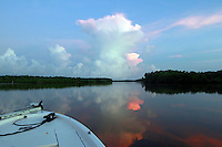 Sunrise in the Florida Everglades and the 10,000 islands out of Chokoloskee Island. Photo/Andrew Shurtleff