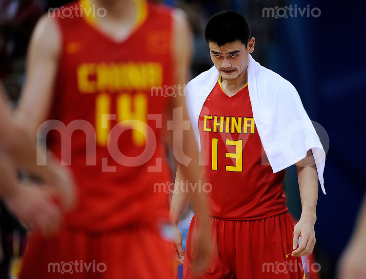 Olympia 2008  Peking   20.08.2008  Basketball Litauen - China YAO Ming (CHN).