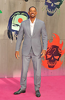 Will Smith at the &quot;Suicide Squad&quot; European film premiere, Odeon Leicester Square cinema, Leicester Square, London, England, UK, on Wednesday 03 August 2016.<br /> CAP/CAN<br /> &copy;CAN/Capital Pictures /MediaPunch ***NORTH AND SOUTH AMERICAS ONLY***