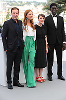 MAY 23 Photocall for the film 'Jeune Femme' (Montparnasse-Bienvenue) at the 70th edition of the Cann