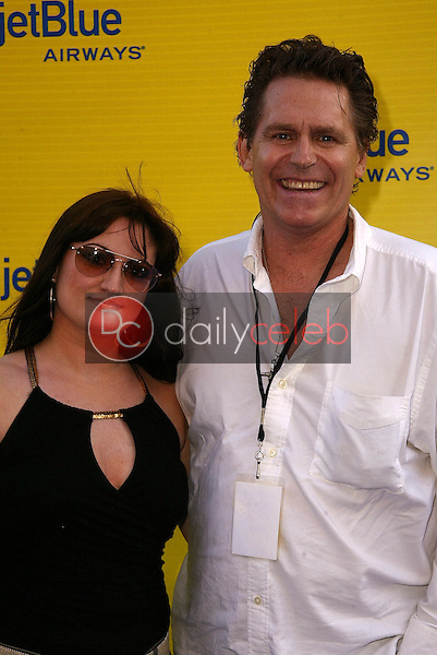 Jeff Conaway and Vicky<br />