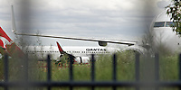 Qantas aircraft come and go at Alice Springs (ASP) airport