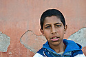 Portrait of a boy, Marrakesh, Morocco.