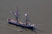 Luchtfotoserie 'Sail In Parade' tijdens Sail Harilngen 2014 - Tall Ships Races
