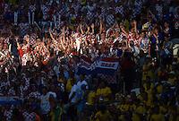 FUSSBALL WM 2014  VORRUNDE    Gruppe A    12.06.2014 Brasilien - Kroatien Fans der kroatischen Nationalmannschaft