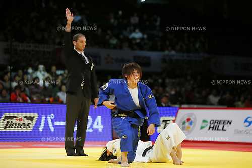 Ami Kondo (JPN), DECEMBER 5, 2015 - Judo : IJF Grand Slam Tokyo 2015 International Judo Tournament Women's -48kg Final Match at Tokyo Metropolitan Gymnasium, Tokyo, Japan. (Photo by Yusuke Nakanishi/AFLO SPORT)