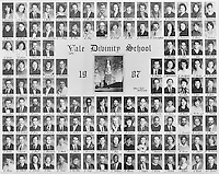 1987 Yale Divinity School Senior Portrait Class Group Photograph