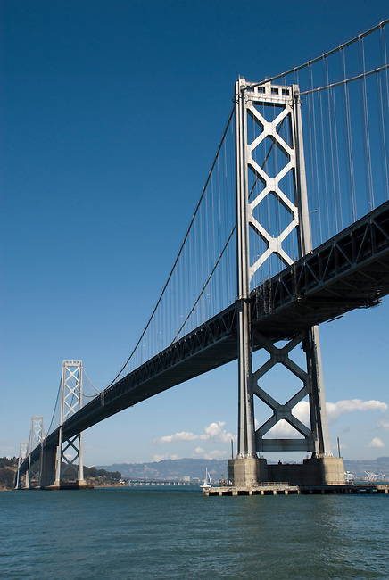 SF Bay Bridge - vertical