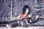 Nikki Sixx of Motley Crue Jan 1984 at New Haven Coliseum