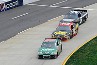30 March - 1 April, 2012, Martinsville, Virginia USA.Dale Earnhardt Jr., Clint Bowyer, Kasey Kahne.(c)2012, Scott LePage.LAT Photo USA