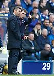 Rangers manager Pedro Caixinha and Graeme Murty