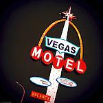 Old street signage in Las Vegas USA