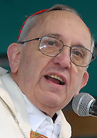 Newly elected Pope Jorge Berboglio , Francis I, file picture