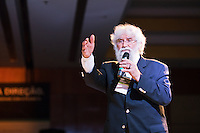 Leonardo Boff, talks during the Ethos International Conference, Sao Paulo, Brazil, 2010.