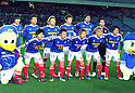 F Yokohama F Marinos Team Group Line-up (F Marinos), MARCH 31, 2012 - Football / Soccer : 2012 J.LEAGUE Division 1 between Yokohama F Marinos 0-0 Kashima Antlers at NISSAN Stadium, Kanagawa, Japan. This game was celebrated as a 20th Anniversary Match involving two of the original teams that featured when the J.League launched. Traditionally one of the favourites, Kashima have not scored yet in their first 4 games of the season. (Photo by Atsushi Tomura /AFLO SPORT) [1035]