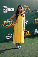 HOLLYWOOD, CA- AUGUST 8:  Auli'i Ravalho at the Disney premiere of 'Pete's Dragon' at El Capitan Theater in Hollywood, California, on August 8, 2016. Credit: David Edwards/MediaPunch