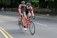 The tandem competitors during the Abergavenny Festival of Cycling &quot;Para Grand Prix of Wales&quot; race on Sunday 17th 2016<br /> <br /> <br /> Jeff Thomas Photography -  www.jaypics.photoshelter.com - <br /> e-mail swansea1001@hotmail.co.uk -<br /> Mob: 07837 386244 -