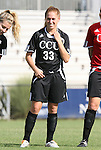 24 August 2008: Carolina's Samantha Teijelo. The Duke University Blue Devils defeated the Coastal Carolina University Lady Chanticleers 9-0 at Koskinen Stadium in Durham, North Carolina in an NCAA Division I Women's college soccer game.