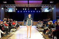 Student Designer Section, Natasha, New Zealand Eco Fashion Exposed Maintain &amp; Sustain at Notre Dame Performing Arts Centre, Lower Hutt, New Zealand on Friday 25 July 2014. <br /> Photo by Masanori Udagawa. <br /> www.photowellington.photoshelter.com.