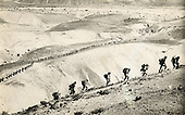 Israeli Army - route march, 1949, Arava, Israel