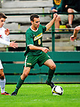 12 September 2010: University of Vermont Catamount forward Zach Paul, a Junior from Longmont, CO, in action against the Cornell University Big Red at Centennial Field in Burlington, Vermont. The Catamounts defeated the Big Red 2-1. Mandatory Credit: Ed Wolfstein Photo
