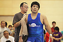 (L to R) Yoji Anjo, Hiroshi Izumi, July 2, 2011 - Wrestling : All Japan Industrial Wrestling Championship, Men's Free Style -96kg at Wako General Gymnasium, Saitama, Japan. (Photo by Daiju KitamuraAFLO SPORT) [1045]
