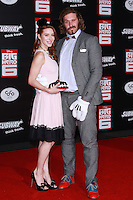 HOLLYWOOD, LOS ANGELES, CA, USA - NOVEMBER 04: Kate Gorney, T.J. Miller arrive at the Los Angeles Premiere Of Disney's 'Big Hero 6' held at the El Capitan Theatre on November 4, 2014 in Hollywood, Los Angeles, California, United States. (Photo by David Acosta/Celebrity Monitor)