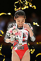 Yu Minobe (JPN), November 26, 2011 - Artistic Gymnastics : FIG Artistic Gymnastics World Cup, Tokyo Cup 2011 Women's Individual All-round Medal Ceremony at Ryogoku-kokugikan, Tokyo, Japan. (Photo by Daiju Kitamura/AFLO SPORT) [1045]