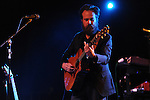 Iron &amp; WIne plays at the Double Decker Arts Festival in Oxford, Miss. on Friday, April 27, 2012.