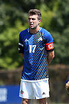 28 August 2016: UNC Asheville's Andrew Lawrence. The Duke University Blue Devils hosted the University of North Carolina Asheville Bulldogs at Koskinen Stadium in Durham, North Carolina in a 2016 NCAA Division I Men's Soccer match. Duke won the game 5-1.
