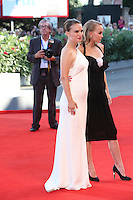 VENICE, ITALY - SEPTEMBER 08: Lily-Rose Depp and Natalie Portman attend the premiere of 'Planetarium' during the 73rd Venice Film Festival at Sala Grande on September 8, 2016 in Venice, Italy. <br /> CAP/GOL<br /> &copy;GOL/Capital Pictures /MediaPunch ***NORTH AND SOUTH AMERICAS ONLY***