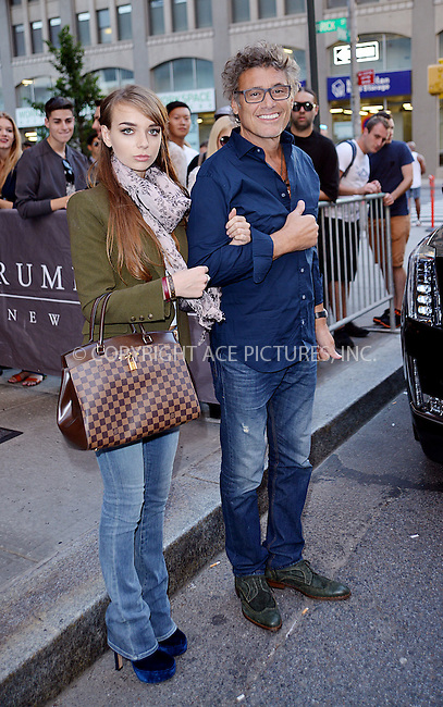 WWW.ACEPIXS.COM<br /> <br /> September 15 2015, New York City<br /> <br /> Actor Steven Bauer and his girlfriend Lyda Loudon leave a downtown hotel on September 15 2015 in New York City<br /> <br /> By Line: Curtis Means/ACE Pictures<br /> <br /> <br /> ACE Pictures, Inc.<br /> tel: 646 769 0430<br /> Email: info@acepixs.com<br /> www.acepixs.com