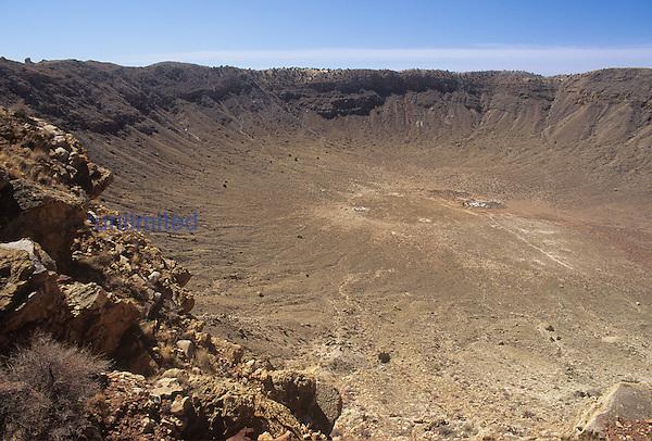 Meteor Crater, Arizona, USA.