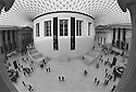 London, UK. 16.01.2016. View of the Great Court,British Museum. Photograph © Jane Hobson.