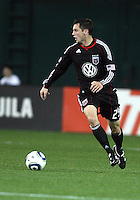 Blake Brettechneider (29) of D.C. United  during an MLS match against the Los Angeles Galaxy at RFK Stadium, on April 9 2011, in Washington D.C. The game ended in a 1-1 tie.
