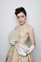 Katerina Valentina is pictured at The 2012 Historic Houses Trust of NSW annual Fifties Fair at Rose Seidler House, Sydney. Picture James Horan