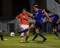 The number 24 ranked Furman Paladins took on the number 20 ranked Clemson Tigers in an inter-conference game at Clemson's Riggs Field.  Furman defeated Clemson 2-1. Manolo Sanchez (8), Michael Gandier (18)