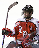Bryan Brutlag (RPI - 4) scored RPI's first goal. - The visiting Rensselaer Polytechnic Institute Engineers tied their host, the Northeastern University Huskies, 2-2 (OT) on Friday, October 15, 2010, at Matthews Arena in Boston, MA.