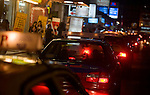 Street scene at night, Sukhumvit, Soi 11, Bangkok, Thailand, south, east Asia