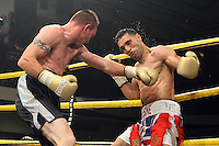 Yassine El Maachi defeats Colin Lynes in Semi- Final 2 of Prizefighter The Welterweights II at York Hall, promoted by Matchroom Sports - 07/06/11 - MANDATORY CREDIT: Gavin Ellis/TGSPHOTO - Self billing applies where appropriate - Tel: 0845 094 6026
