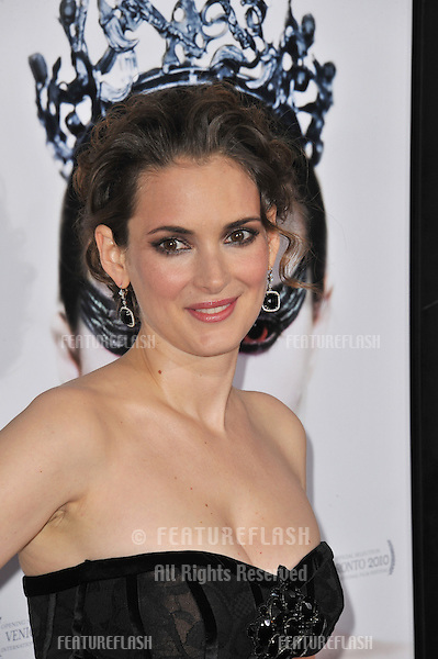 Winona Ryder at the Lo...