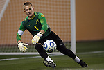 09 December 2011: Creighton's Brian Holt. The Creighton University Bluejays played the University of North Carolina Charlotte 49ers to a 0-0 overtime tie, the 49ers won the penalty shootout 4-1 to advance at Regions Park in Hoover, Alabama in an NCAA Division I Men's Soccer College Cup semifinal game.
