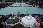 Tennis Wimbledon rain stops play.  The English Season published by Pavilon Books 1987