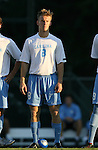 2 September 2007: North Carolina's Garry Lewis. The University of North Carolina Tar Heels tied the Old Dominion University Monarchs 1-1 at Fetzer Field in Chapel Hill, North Carolina in an NCAA Division I Men's Soccer game.