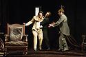 London, UK. 18.01.2013. THE JUDAS KISS, starring Rupert Everett as Oscar Wilde, opens at the Duke of York's Theatre. Picture shows: Rupert Everett (Oscar Wilde), Ben Hardy ( Arthur Wellesley) and Cal MacAninch (Robert Ross). Photo credit: Jane Hobson.