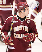 Pat Mullane (BC - 11) - The Providence College Friars tied the visiting Boston College Eagles 3-3 on Friday, December 7, 2012, at Schneider Arena in Providence, Rhode Island.
