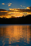 Gold Lake Sunrise, Lakes Basin, Northern California.